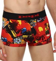 Papi 626511 Fiesta Brazillian Brief Allover Print