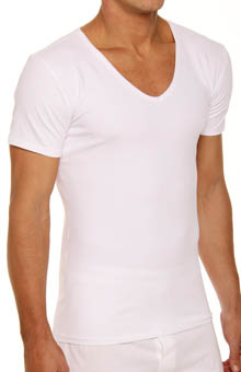 Papi 626827 Core Support V-neck T-Shirt