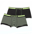Papi Cotton Stretch Brazilian Trunks - 2 Pack 755138