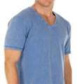 Mineral Wash V-Neck T-Shirt Image