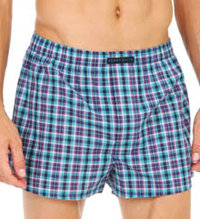 Perry Ellis Woven Boxers - 3 Pack 879746R