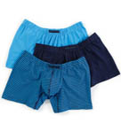 Perry Ellis Cotton Stretch Solid / Stripe Boxer Brief 3 Pack 960554