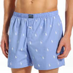 Polo Player Print Boxer Image