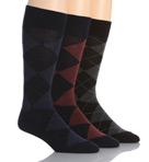 Classic Argyle Cotton Socks - 3 Pack Image