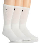 Cushioned Classic Cotton Crew Socks - 3 Pack Image