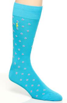 Polo Ralph Lauren Mercerized Cotton Diamond Socks 88624