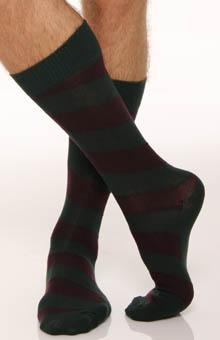 Polo Ralph Lauren Wide Diagonal Striped Socks - 2 Pack 8957PK