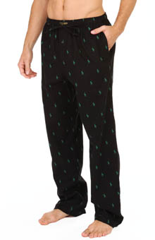 Polo Ralph Lauren Polo Player Print Flannel Pants P672