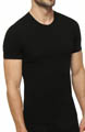 Slim Fit Stretch Crewneck T-Shirts - 2 Pack Image