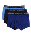 Polo Ralph Lauren Slim Fit Cotton Trunks - 3 Pack P733