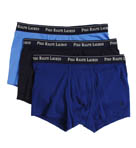 Slim Fit Cotton Trunks - 3 Pack Image
