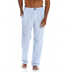 Woven Cotton Pajama Pants Image