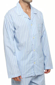 Polo Ralph Lauren Woven Cotton Long Sleeve Pajama Top R199A