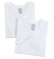 Boys V-Neck Classic Cotton T-Shirt - 2-Pack Image