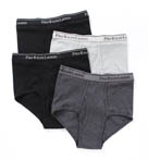 Polo Ralph Lauren Mid-Rise Briefs - 4 Pack RY68