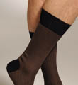 Punto Two Color Herringbone Sock 302009