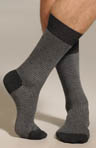 Punto Two Color Houndstooth Sock 302248