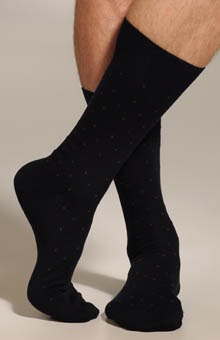 Punto 4 Color Spaced Neat Sock 302249