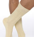 Egyptian Soft Cotton Ribbed Anklet Image