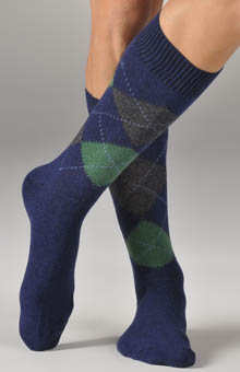 Punto 318033 Cashmere Blend Argyle Anklet at Sears.com