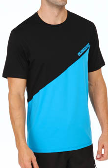 Quiksilver 50/50 Short Sleeve Loose Fit Rash Guard AQYWR13