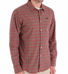 RVCA Oil Rag Long Sleeve Woven Shirt M7511ORL