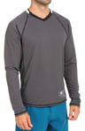 RVCA Fraction L/S V-Neck T-Shirt V3906FRL