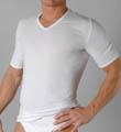 Schiesser Original Fine Rib Seamless V-Neck T-Shirt 05-123