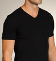 Retro Rib V-Neck Shirt Image