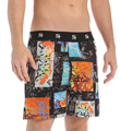 Stacy Adams Geo Graffiti Moisture Wicking Boxer Short SA1300