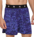 Stacy Adams Tonal Print Moisture Wicking Boxer Short SA1302