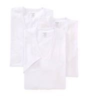 2xist Essential 100% Cotton Slim Fit V-Neck - 3 Pack 20341