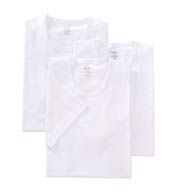 2xist Essential 100% Cotton Slim Fit Crew Neck - 3 Pack 20342