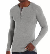 2xist Long Sleeve Henley 4072501