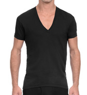 2xist Pima Cotton Slim Fit Deep V-Neck T-Shirt 41041