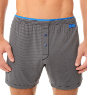 2xist Barcode Modal Stretch Knit Boxer 42507