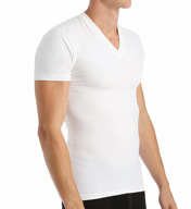 2xist Form Moderate Control Shaping V-Neck T-Shirt 4510