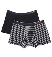 Blackspade Stripes Cotton Modal Boxer - 2 Pack 9551