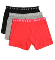 Boss Hugo Boss 100% Cotton Boxer Briefs - 3 Pack 0239869