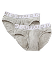 Buffalo David Bitton Cotton Stretch Brief - 2 Pack BD10310