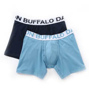 Buffalo David Bitton Cotton Stretch Boxer Brief - 2 Pack BD10510