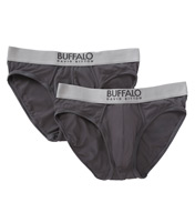 Buffalo David Bitton Microfiber Brief - 2 Pack BD10611