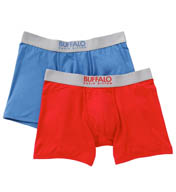 Buffalo David Bitton Microfiber Boxer Brief - 2 Pack BD10811