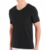 Buffalo David Bitton Microfiber V-Neck T-Shirt BD20611