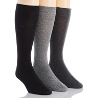 Calvin Klein Calvin Klein Flat Knit Crew Length Sock A91219