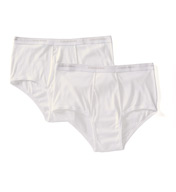 Calvin Klein Big and Tall 100% Cotton Brief - 2 Pack NB1102