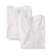Calvin Klein Tall Man 100% Cotton Crew - 2 Pack NB1104