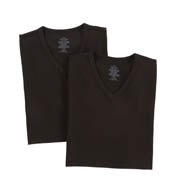 Calvin Klein Cotton Stretch V-Neck T-Shirts - 2 Pack NU2670
