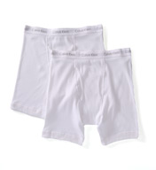 Calvin Klein Tall Man 100% Cotton Boxer Brief - 2 Pack NU8586