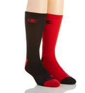 Champion Men's Basketball Crew Socks- 2 Pack CH120
